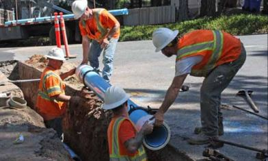 pid crews install pipeline